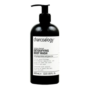 Charcoalogy Bamboo Charcoal Detoxifying Body Wash 400ml-277898.jpg