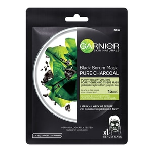 Garnier Black Serum Mask Pure Charcoal Purifying  Hydrating Pore Tightening-277133.jpg