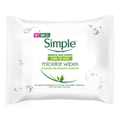 Simple Micella Cleansing Wipes 25 Sheet