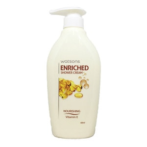 Watsons Enriched Shower Cream Vitamin E 400ml-267289.jpg