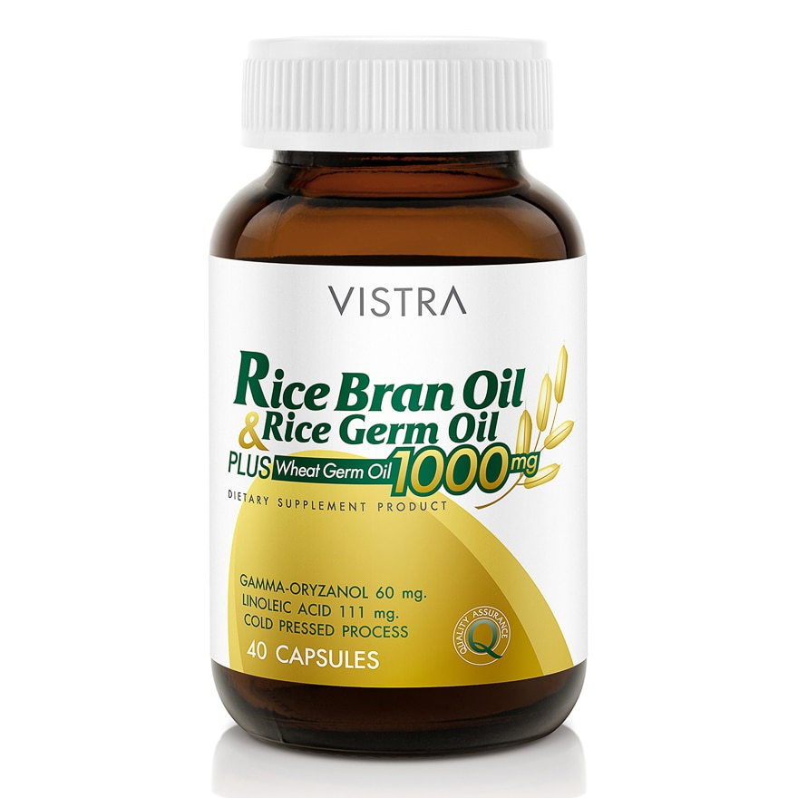 Vistra Rice Bran Oil  1000 mg 40 cap-267723.jpg