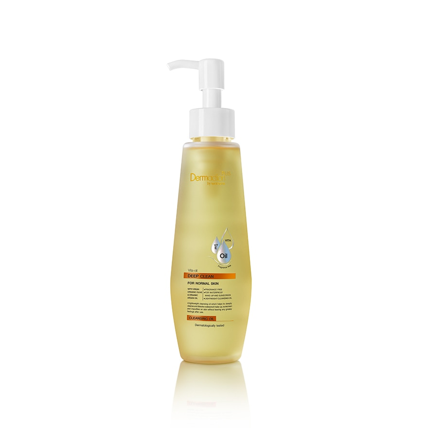 Dermaction Plus By Watsons Vita-Oil Deep Clean Cleansing Oil 150ml-293447.jpg
